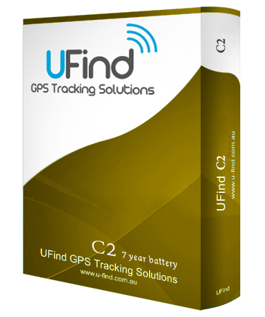 UFind GPS Tracking Solutions - C2- BATTERY-POWERED GPS